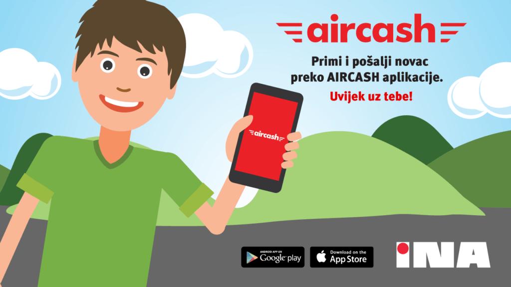 Podignite novac Aircashom na INI!