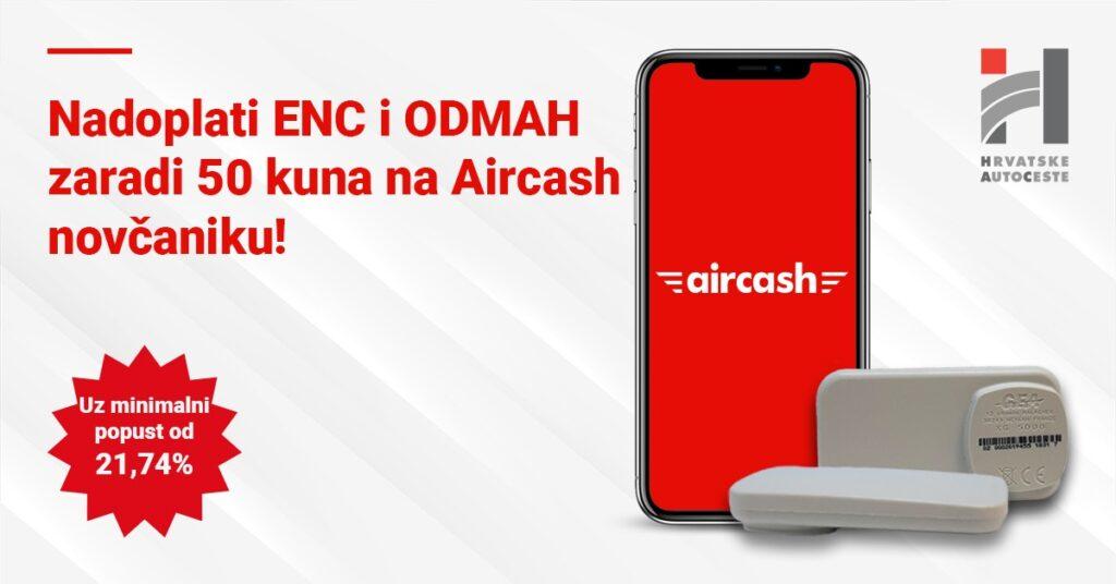 Nadoplati ENC Aircashom!