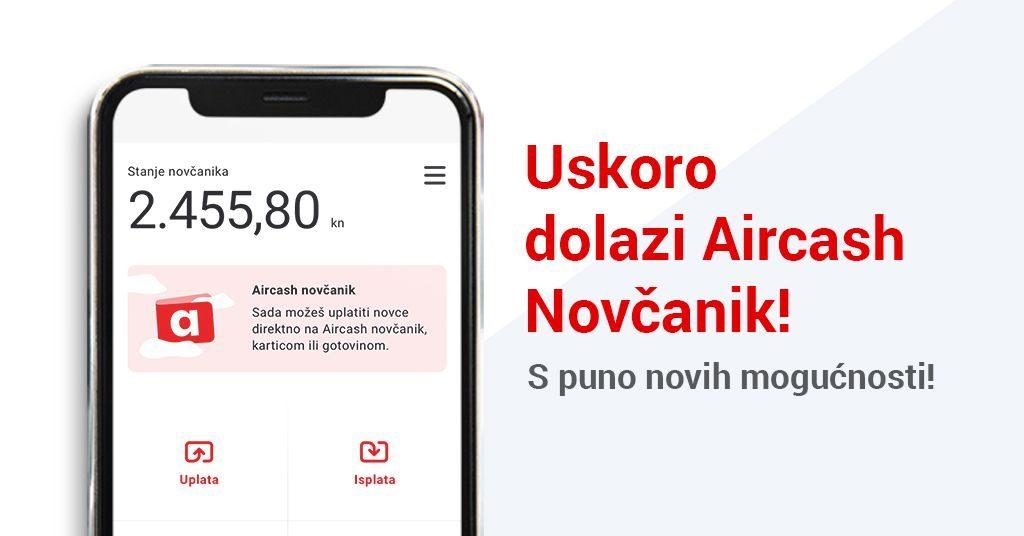 Aircash novčanik - uskoro na tvom telefonu!