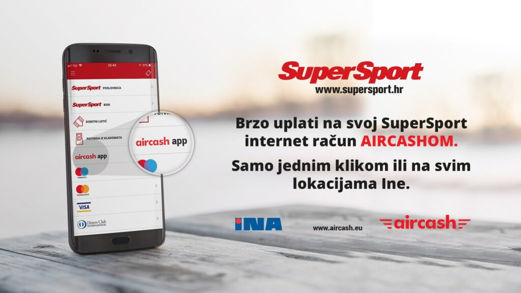 SuperSport je novi Aircash partner