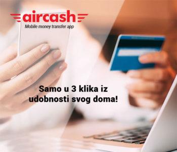Slanje novca uz aircash