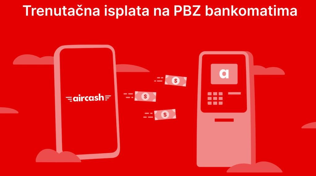 NOVO! Aircash na bankomatima PBZ-a!
